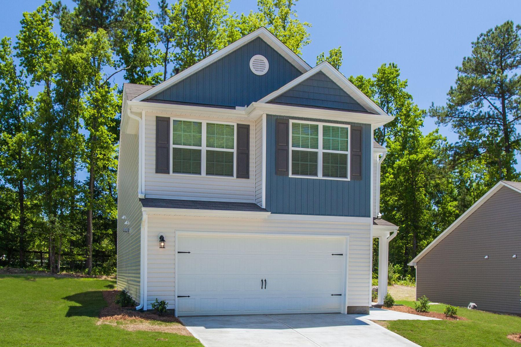The Burke:LGI Homes - Hadleigh at Cedar Creek