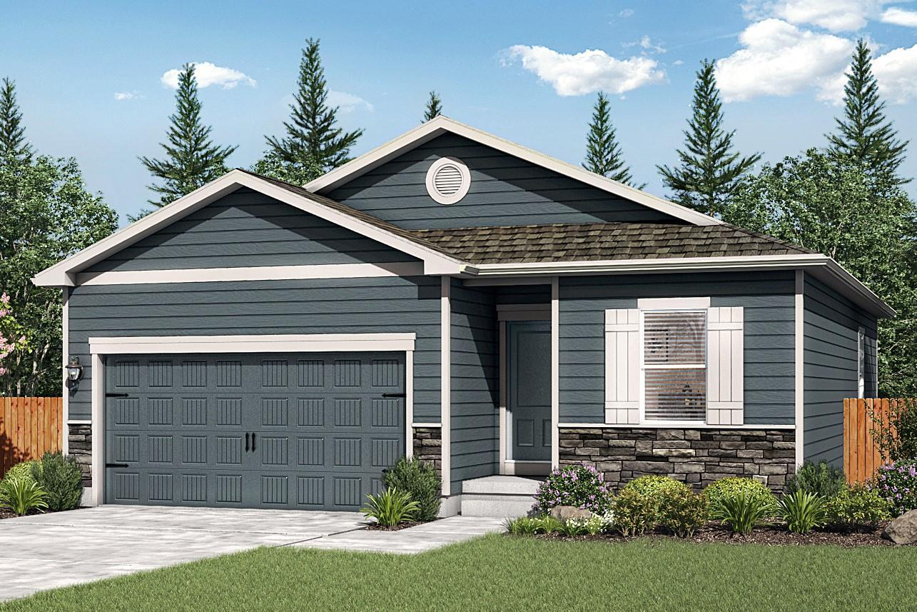 The Arapaho by LGI Homes:3-bedroom home with spacious layout!