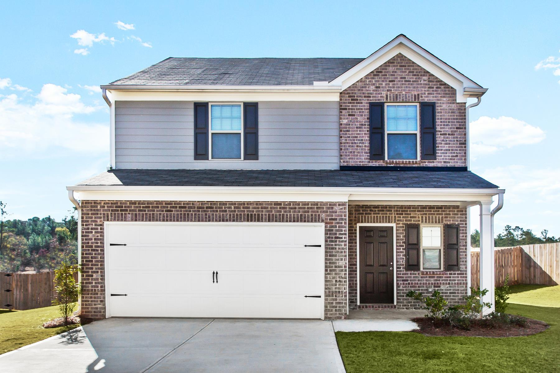 The Harding at Creekside Manor:Spacious 4-bedroom home with great curb appeal!