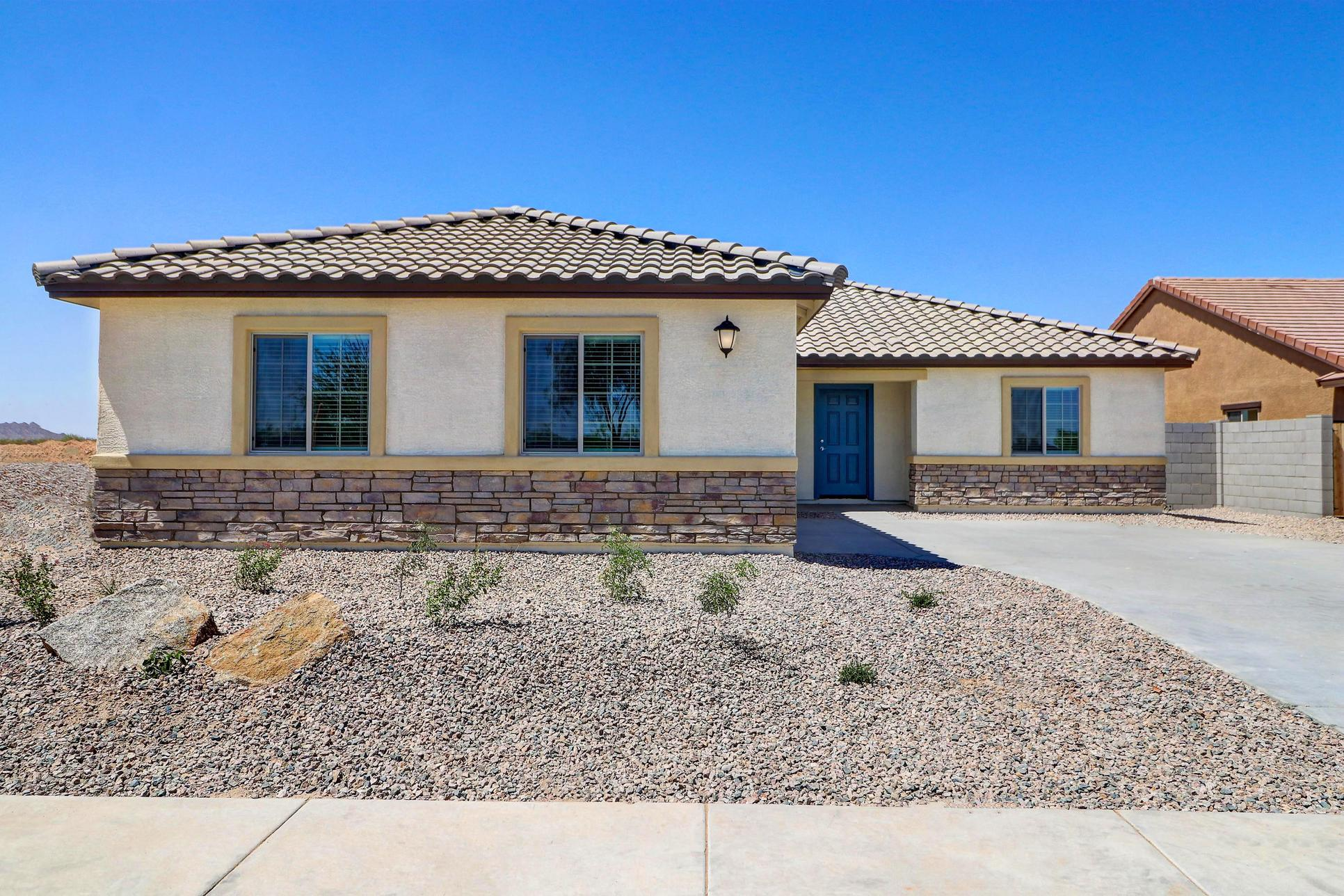 The Guadalupe by LGI Homes:Charming exterior with great curb appeal