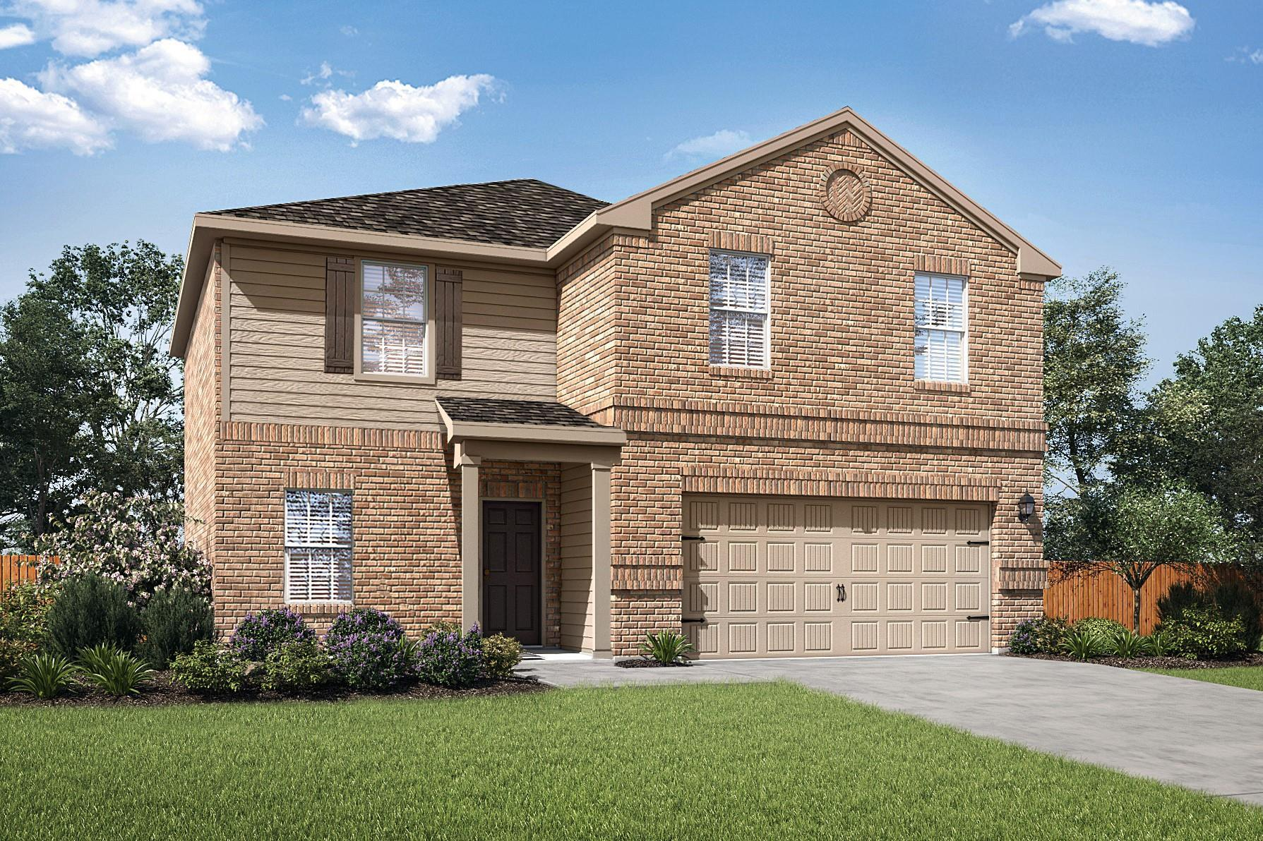 The Rio by LGI Homes:The Rio is a new four-bedroom home by LGI Homes.