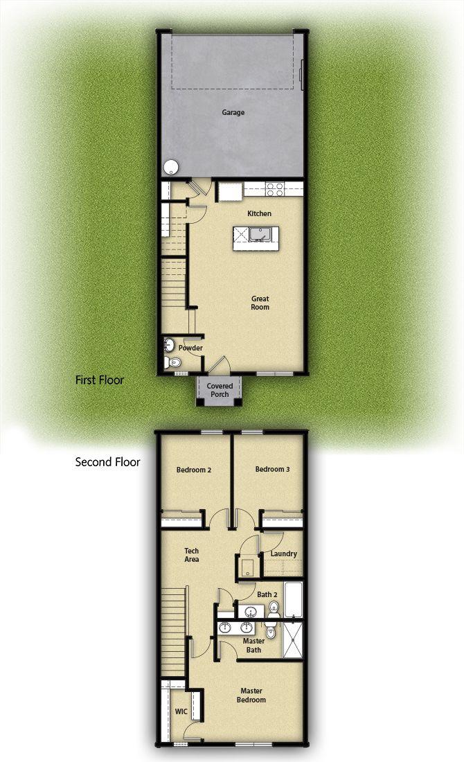 The Astoria Townhome by LGI Homes:LGI Homes at 5th Plain Creek Station