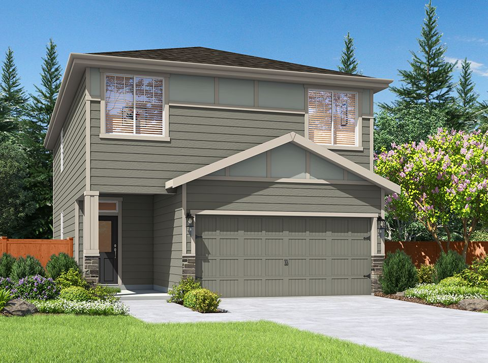 The Oswego by LGI Homes at 5th Plain Creek Station:LGI Homes at 5th Plain Creek Station