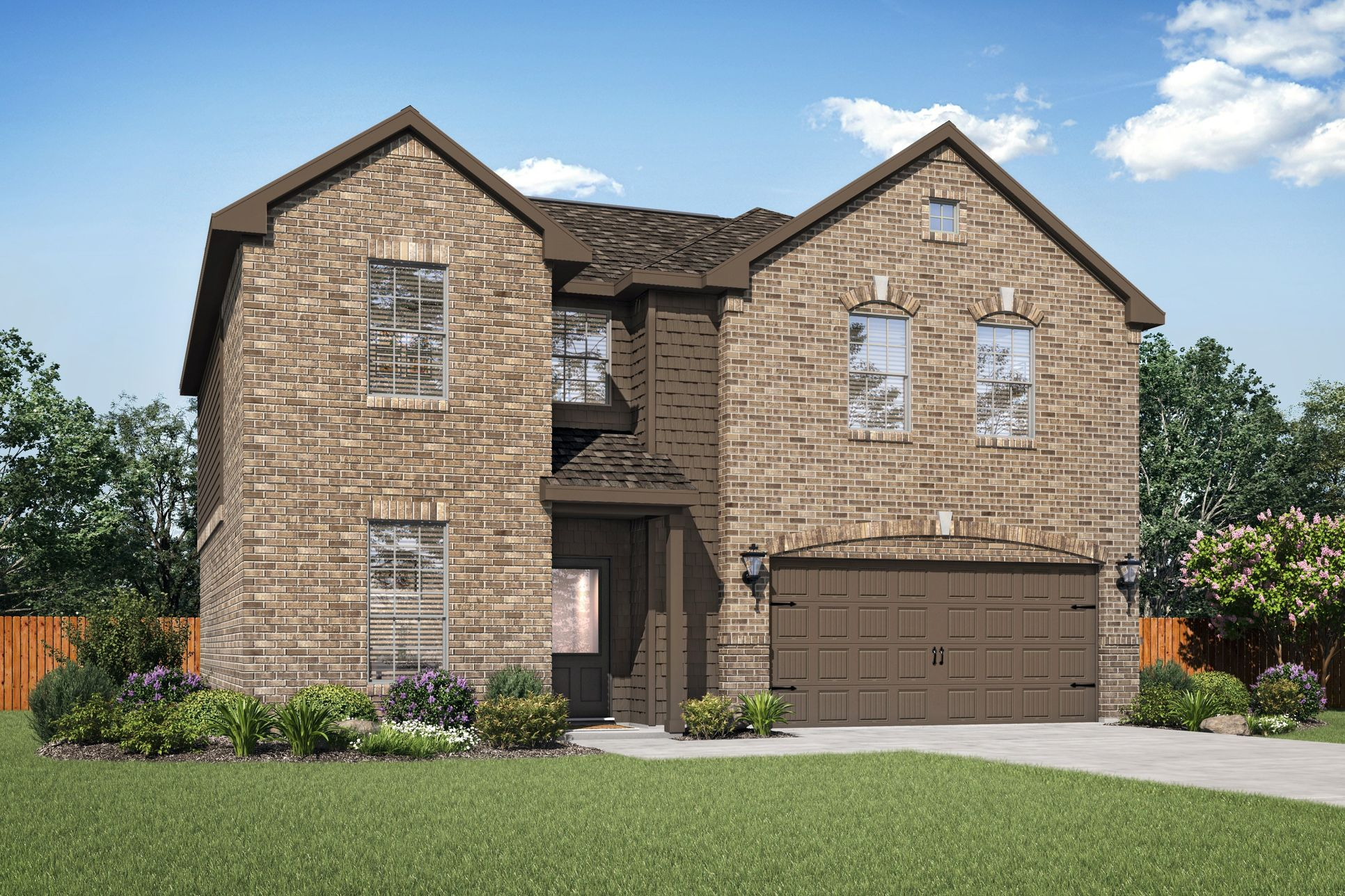 The Ozark Plan by LGI Homes:The beautiful Ozark plan is available now.