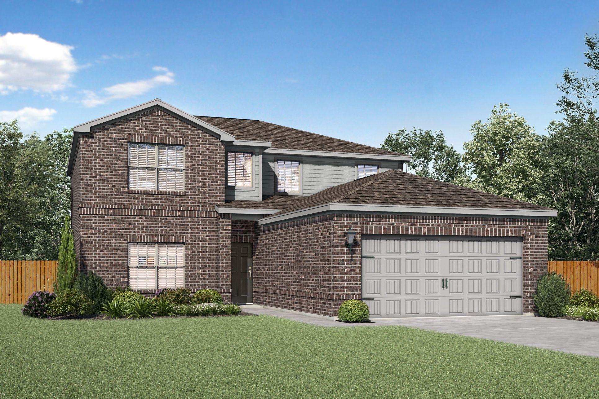 The Oakmont Plan by LGI Homes:The Oakmont plan by LGI Homes.