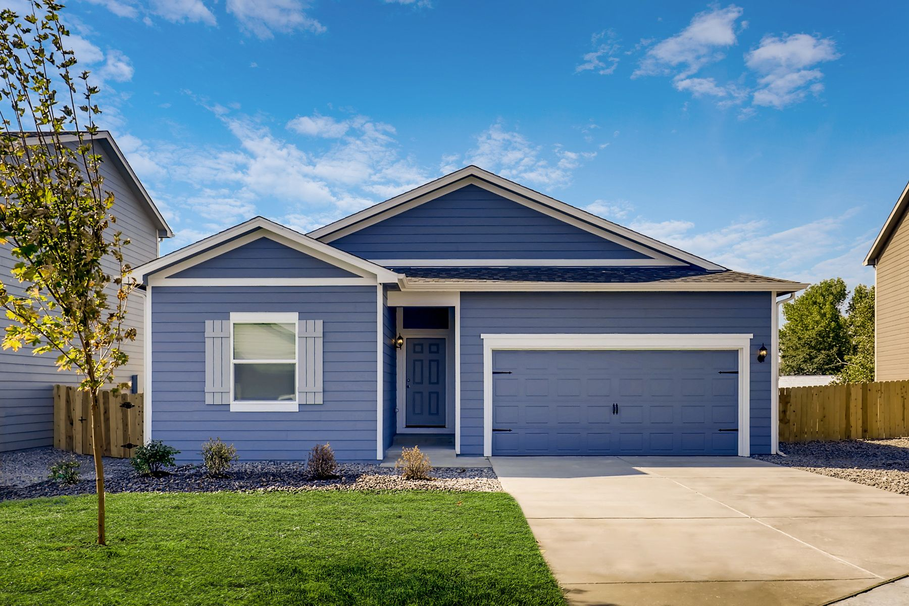 Stunning curb appeal:The Chatfield by LGI Homes