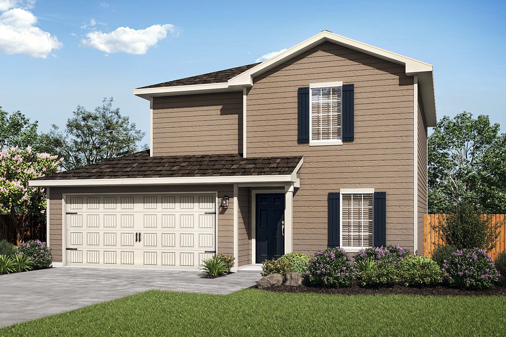 The Canyon by LGI Homes:The beautiful 3-bedroom Canyon plan.