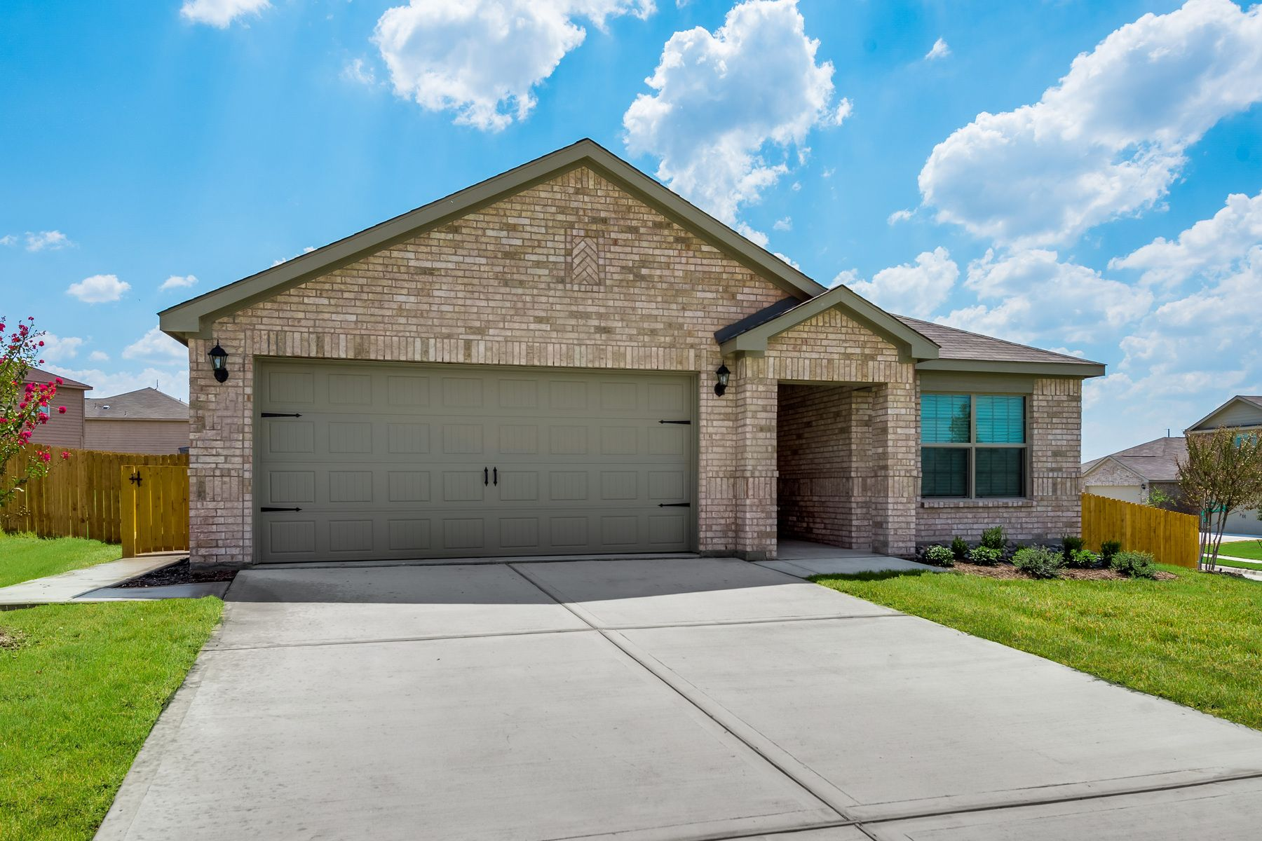 The Blanco Plan by LGI Homes:The Blanco plan is available for quick move-in.