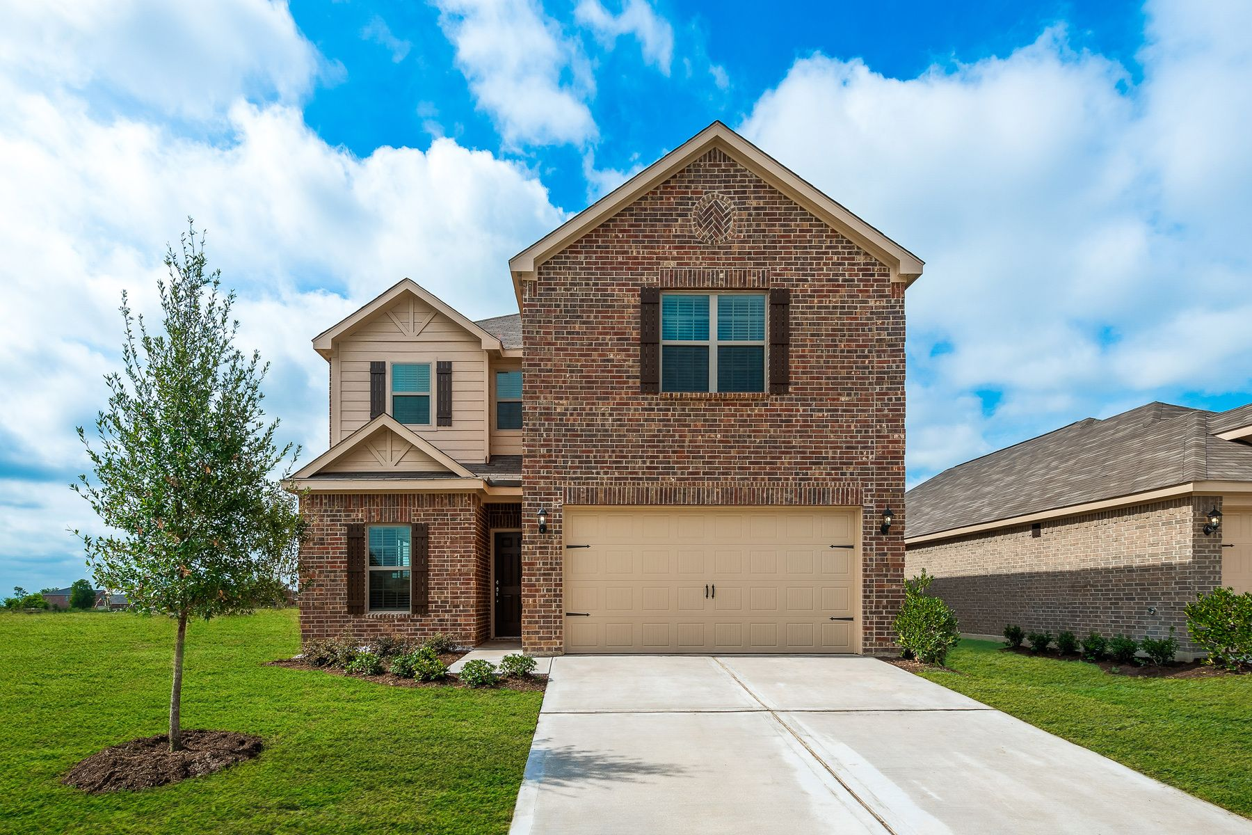 The Driftwood by LGI Homes:The Driftwood is a spacious, two-story home at Willowwood!