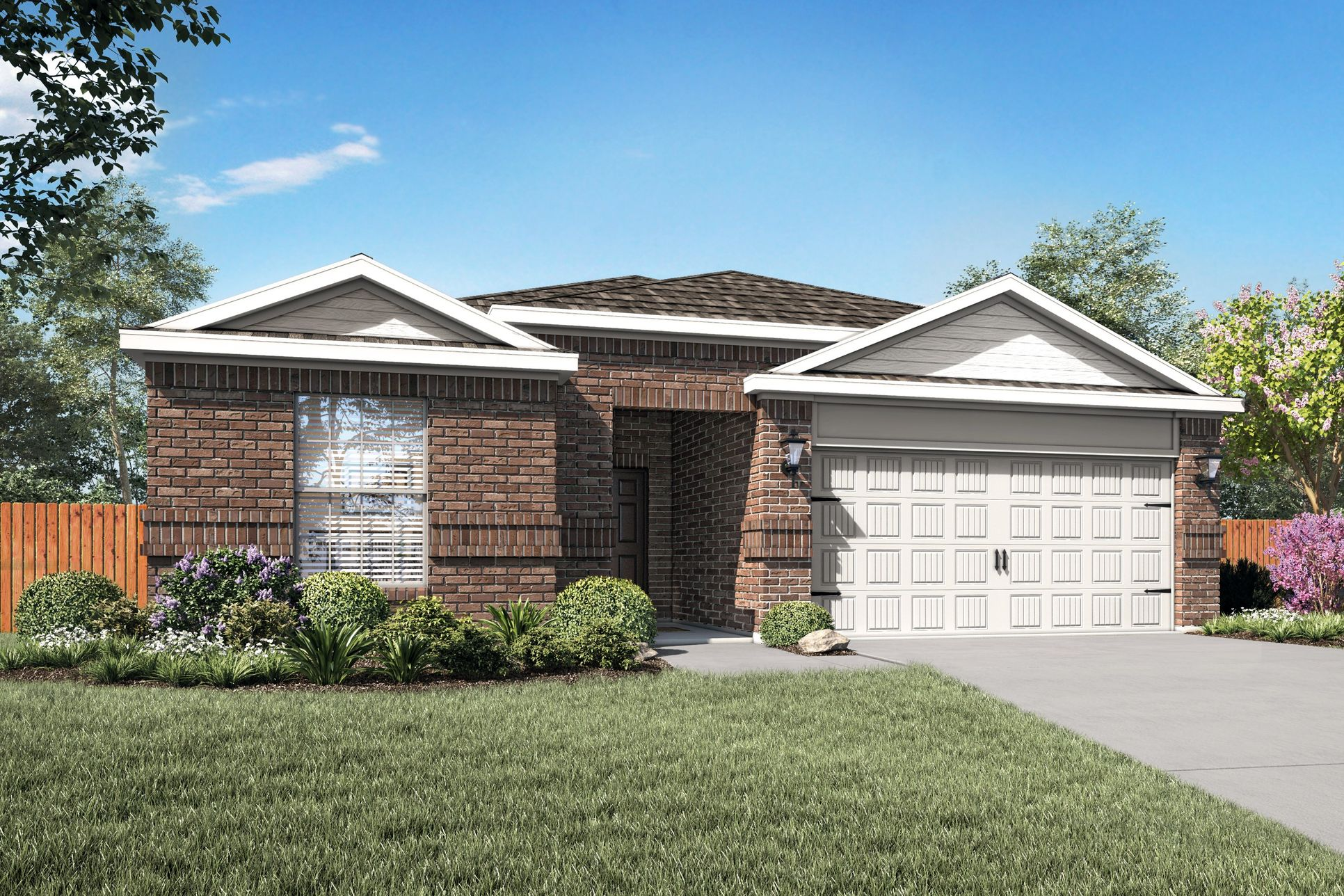 The Reed by LGI Homes:The Reed plan is now available for quick move-in!