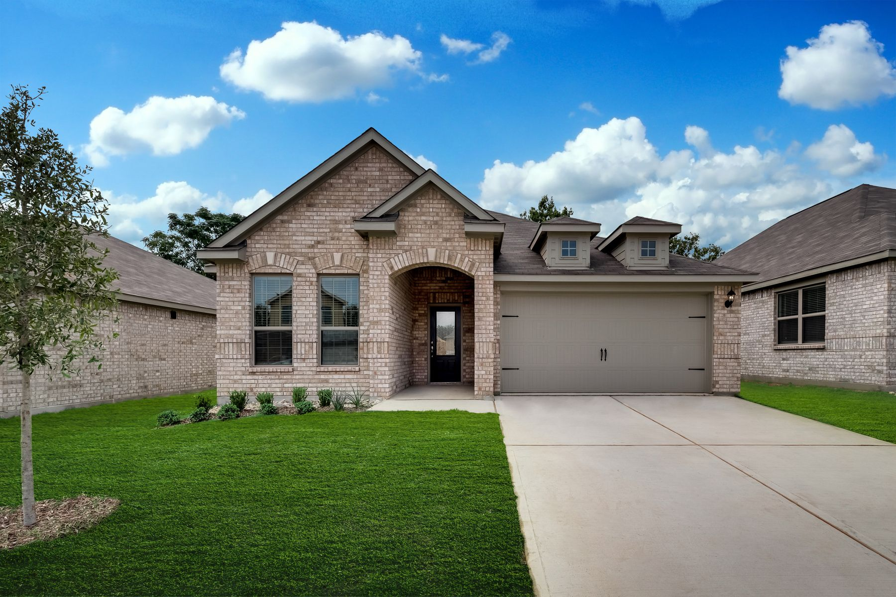 The Erie by LGI Homes:The stunning Erie plan is ready for move-in!