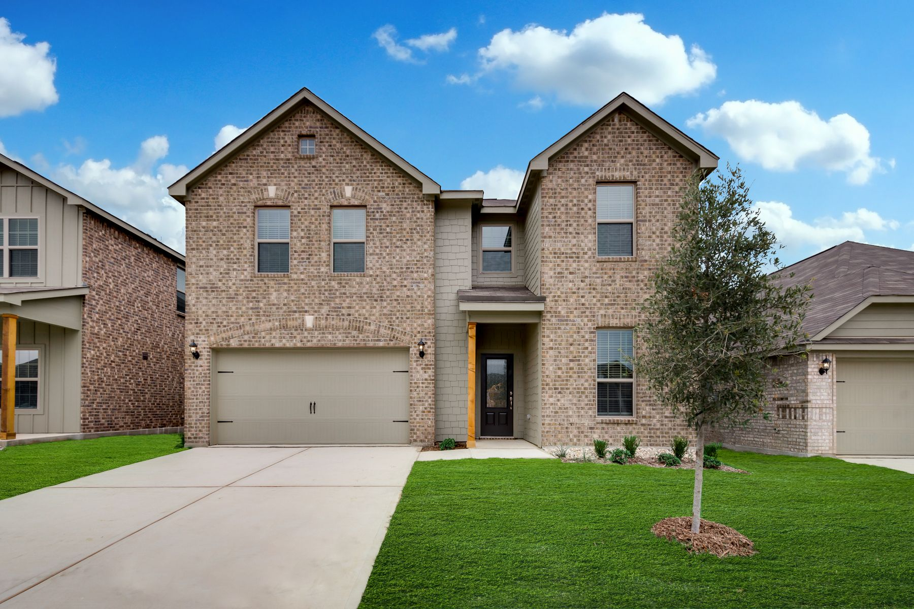 The Ozark Plan by LGI Homes:The stunning Ozark plan at Oak Ridge.