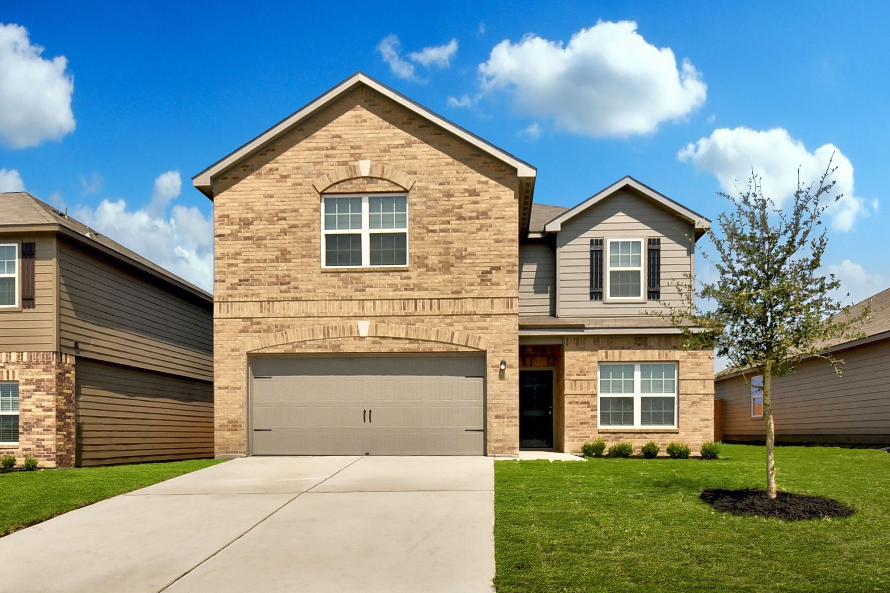 LGI Homes at Homestead Estates:The spacious Travis plan is available now.