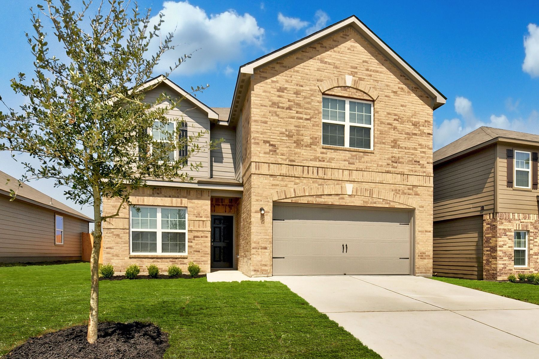 The Travis by LGI Homes:The Travis has incredible curb appeal.