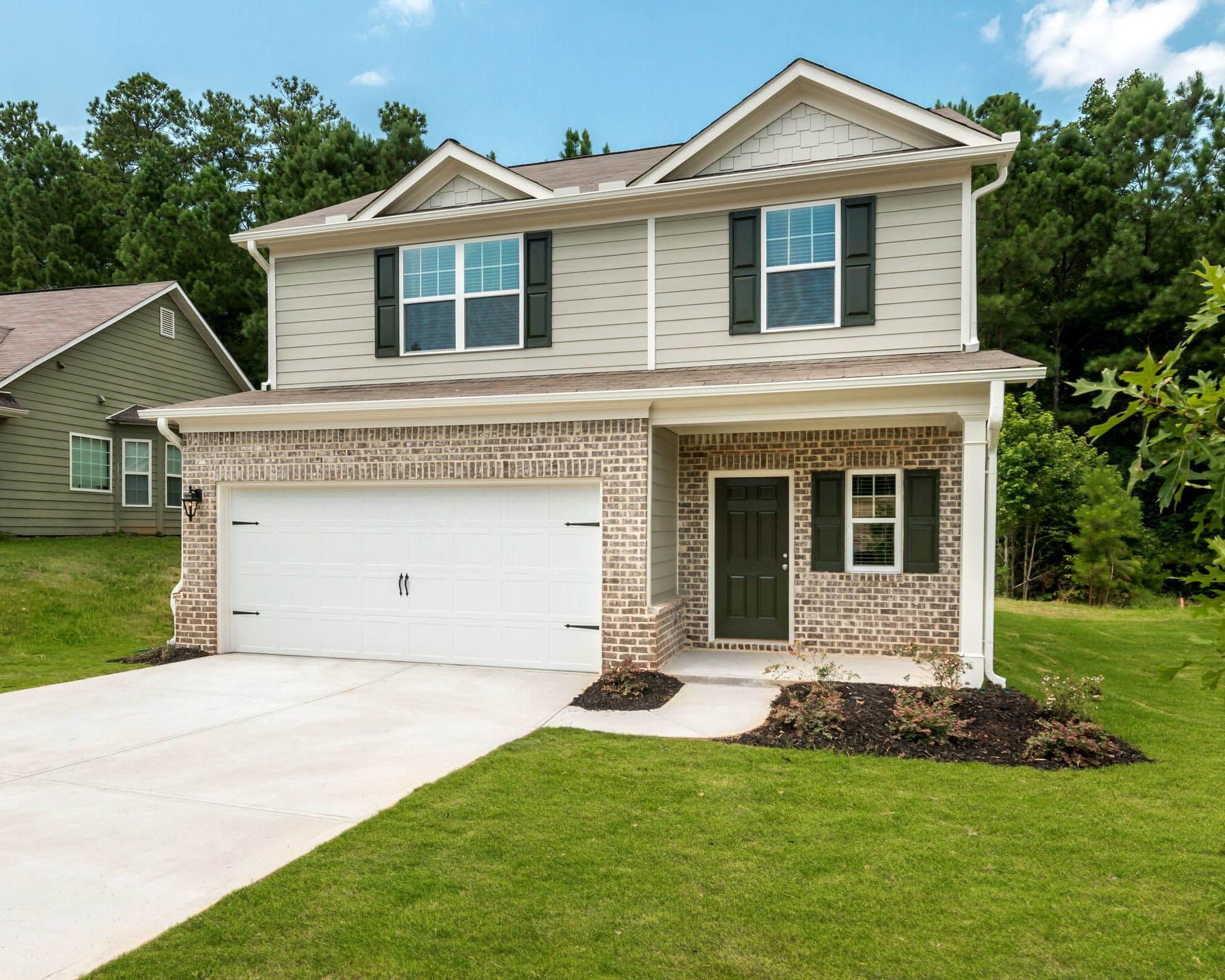 The Camden by LGI Homes:Excellent curb appeal