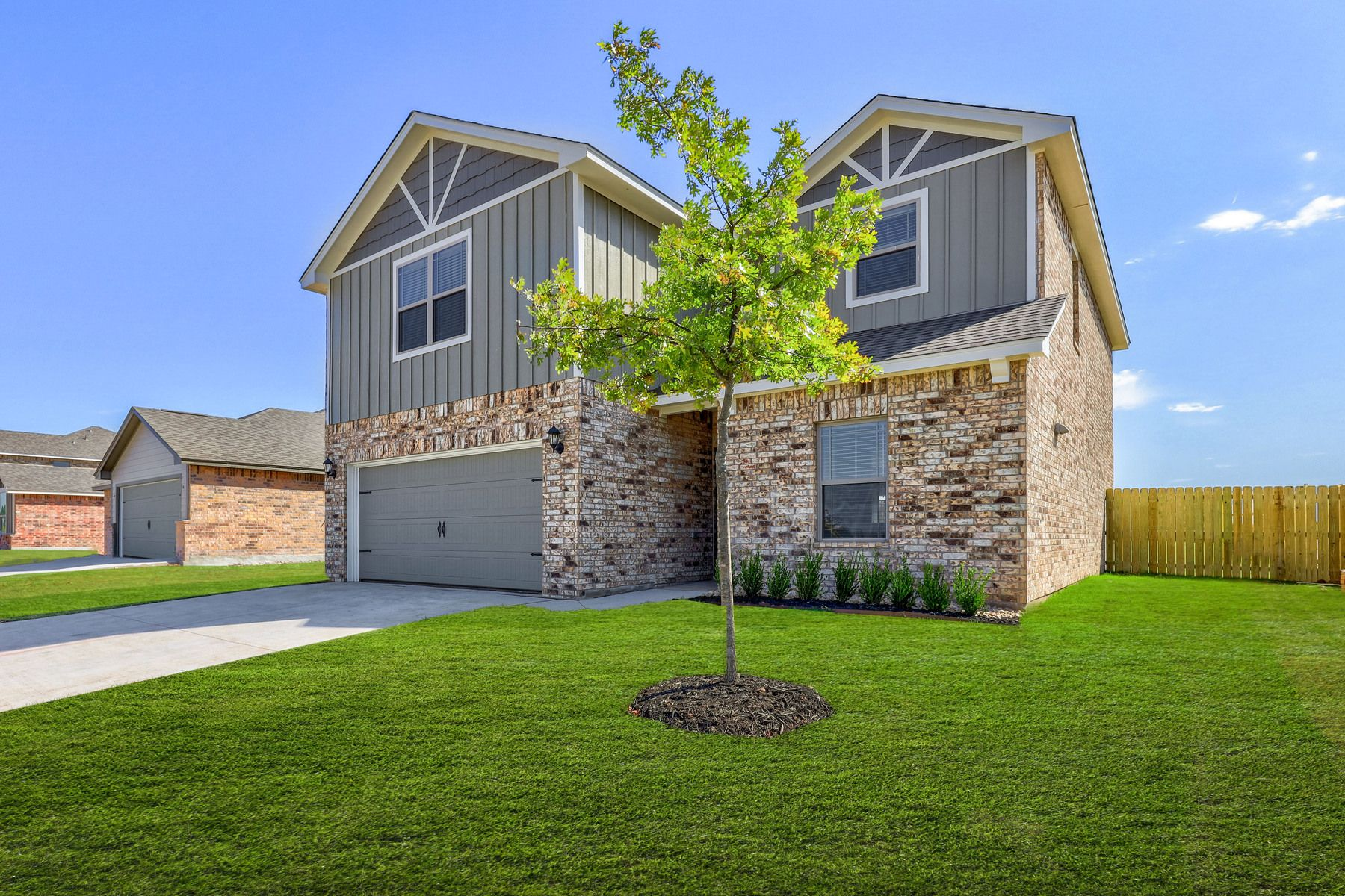 The Driftwood by LGI Homes:The Driftwood is now available at Crimson Lake Estates!