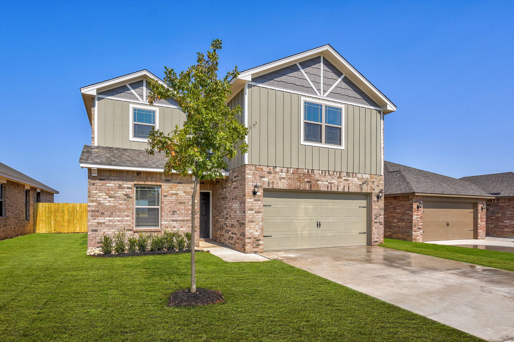 The Driftwood by LGI Homes:The Driftwood has incredible curb appeal.