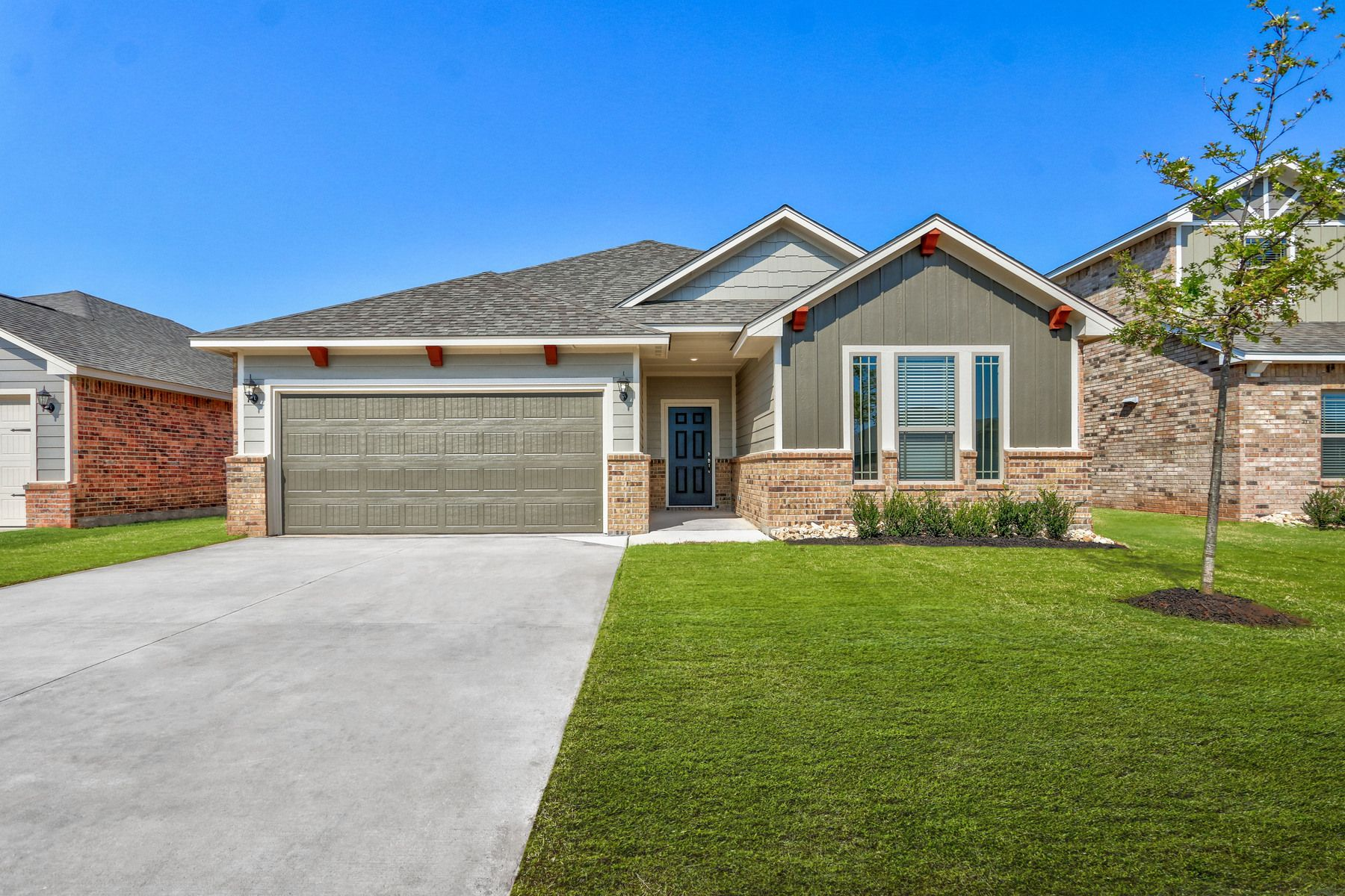 The Keaton by LGI Homes:The Keaton is a large, one-story plan at Wyndemere.