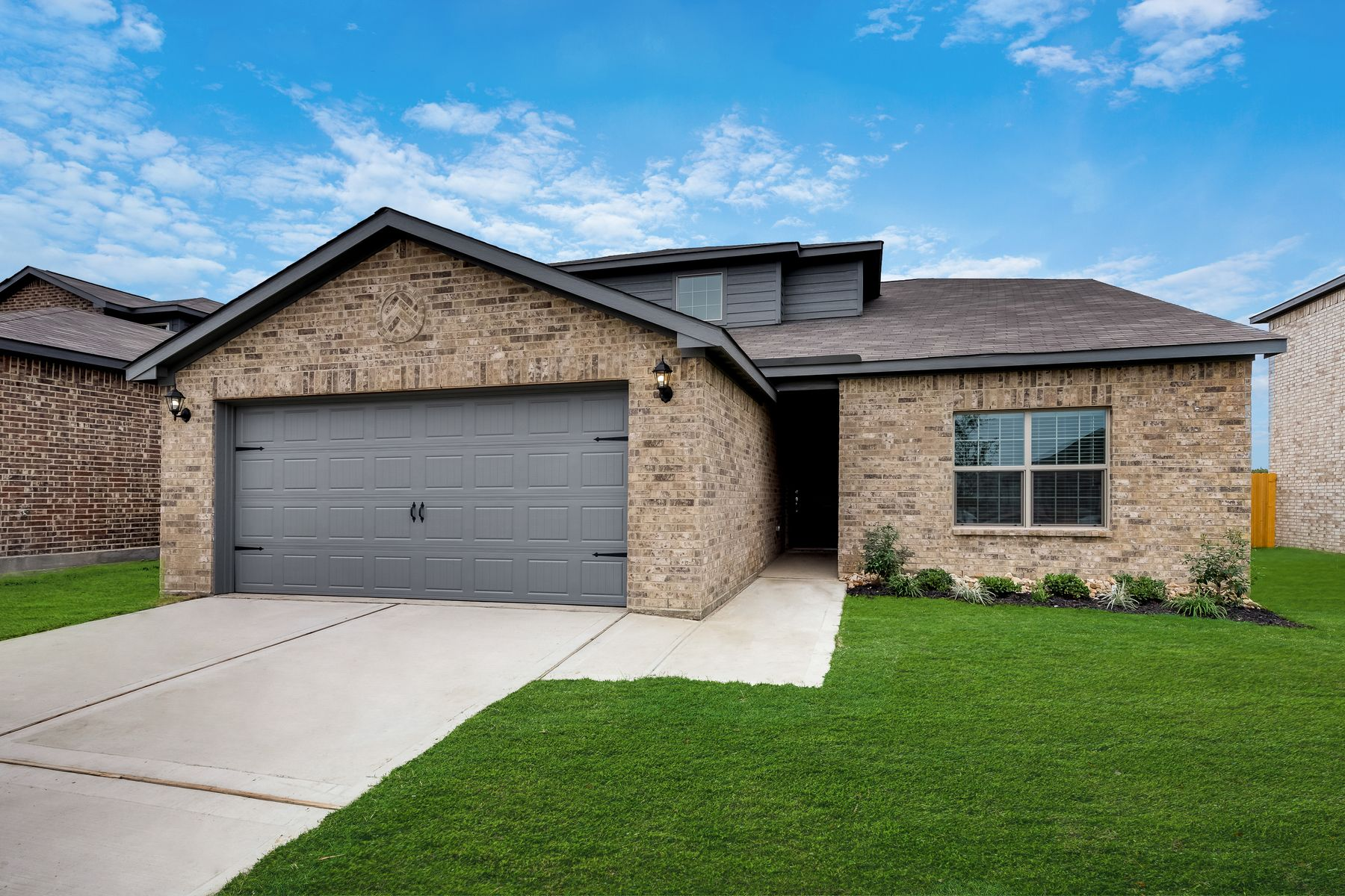 LGI Home at Seagoville Farms:The Cypress plan is available at Seagoville Farms.