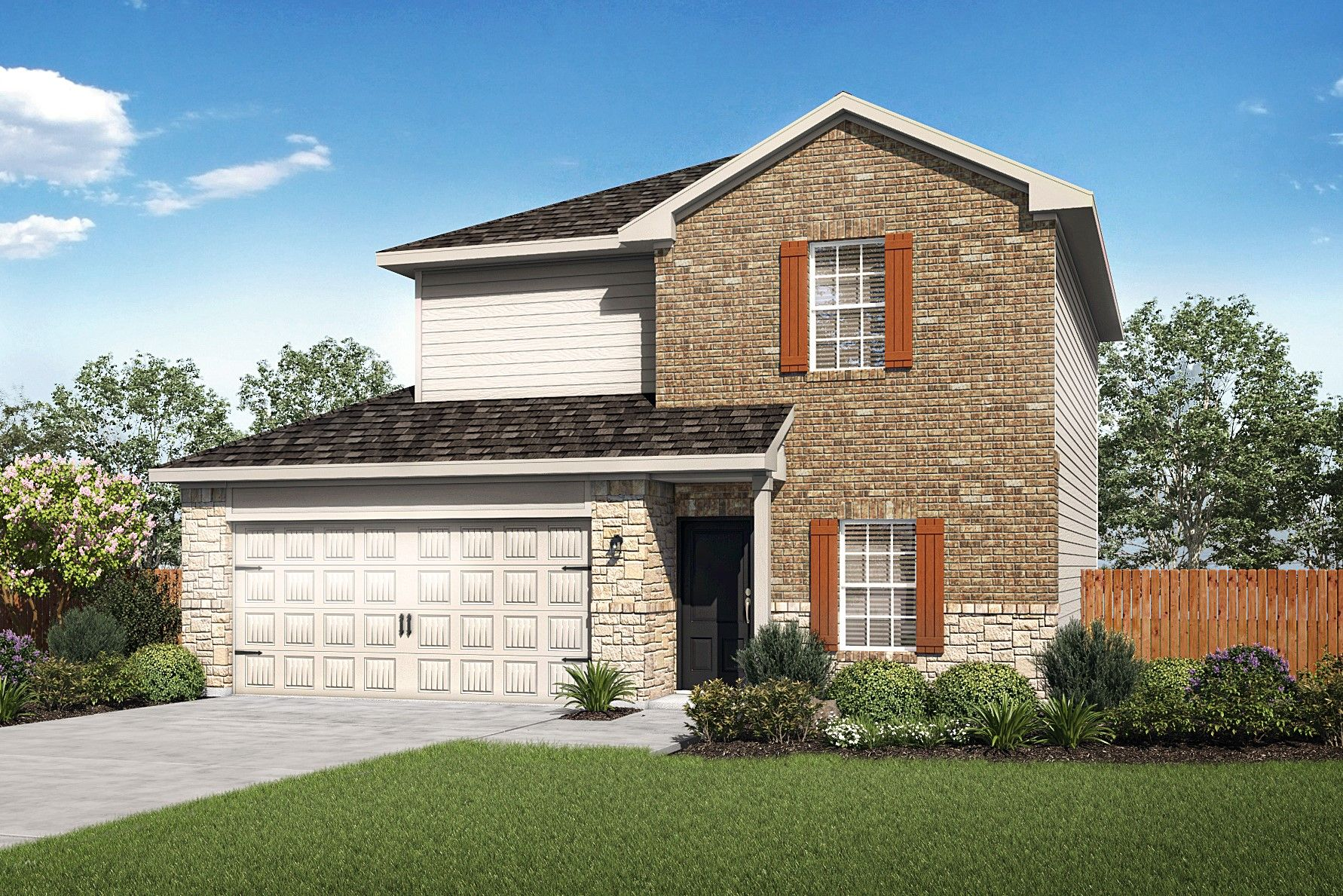 The Carson by LGI Homes:The gorgeous Carson is available now at Talise de Culebra!