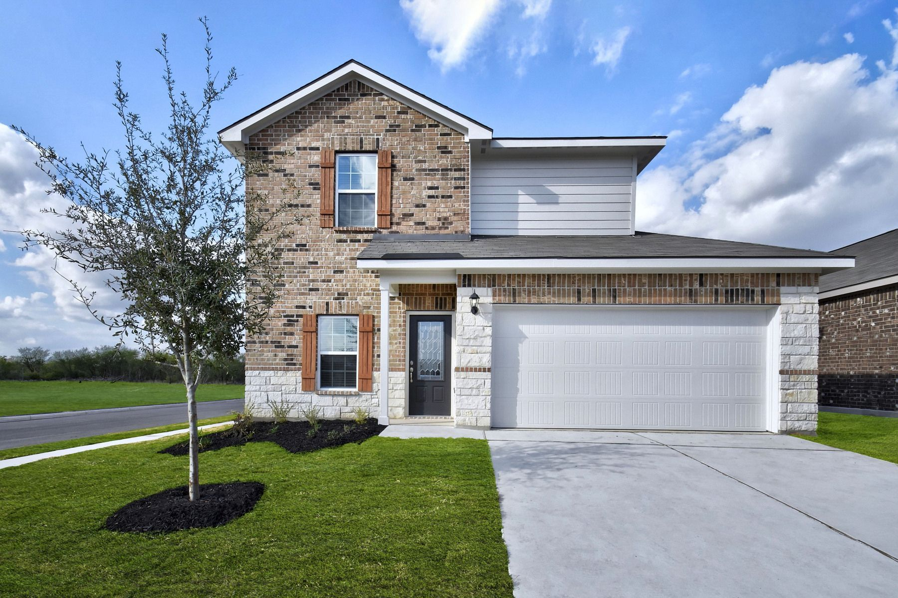 The Carson by LGI Homes:The gorgeous Carson plan at Hightop Ridge.