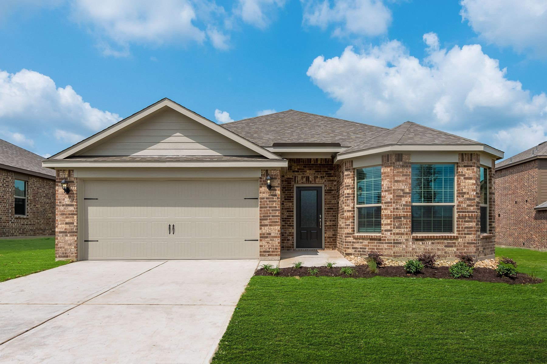 The Texoma Plan by LGI Homes:The Texoma is a new one-story home in Princeton, Texas!