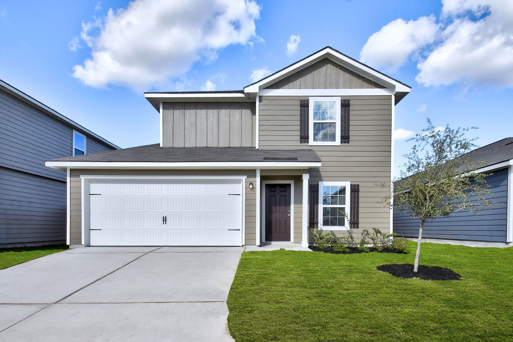 The Canyon by LGI Homes:The Canyon is a stunning two-story home at Savannah Place.