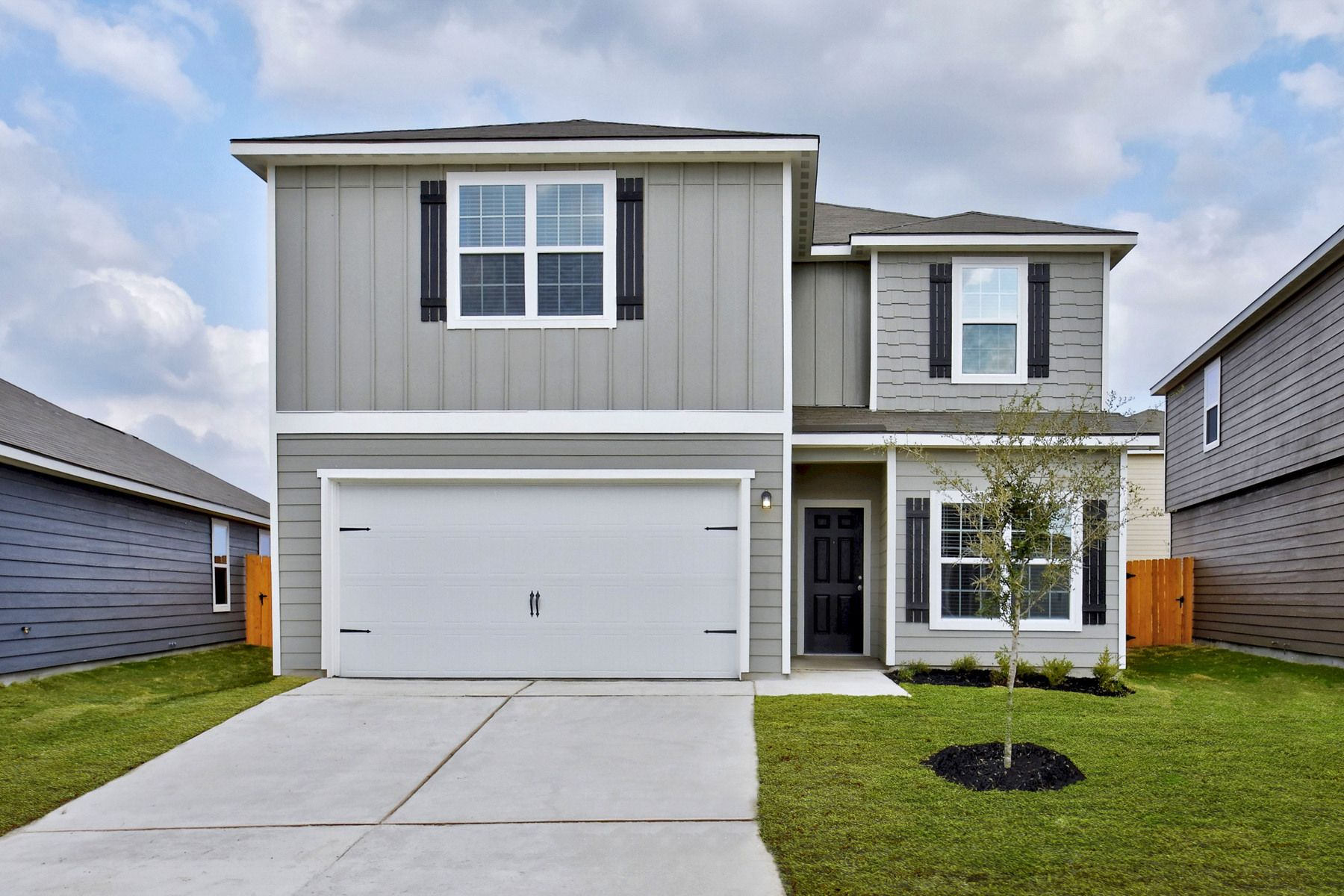 The Travis by LGI Homes:The Travis is a spacious two-story home at Savannah Place.