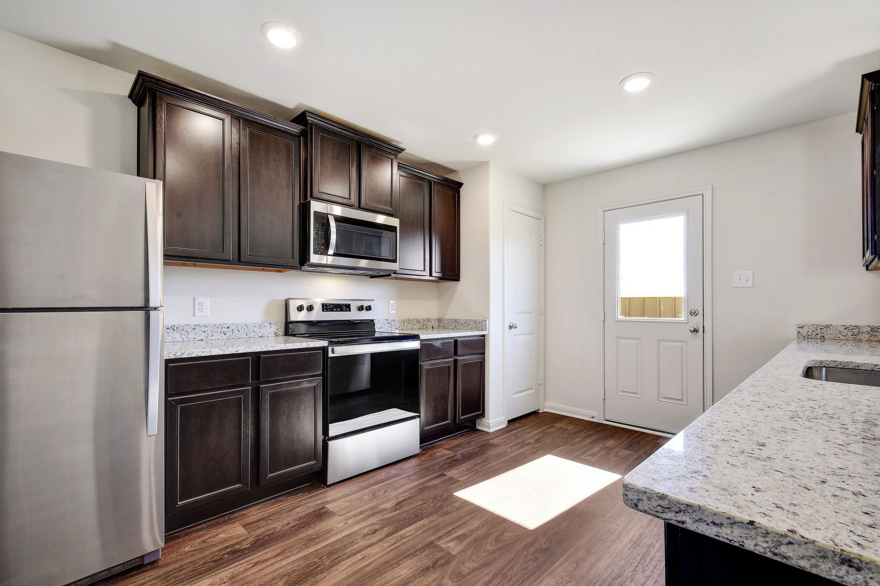 The Canyon by LGI Homes:The kitchen comes with a full suite of energy-efficient appliances!
