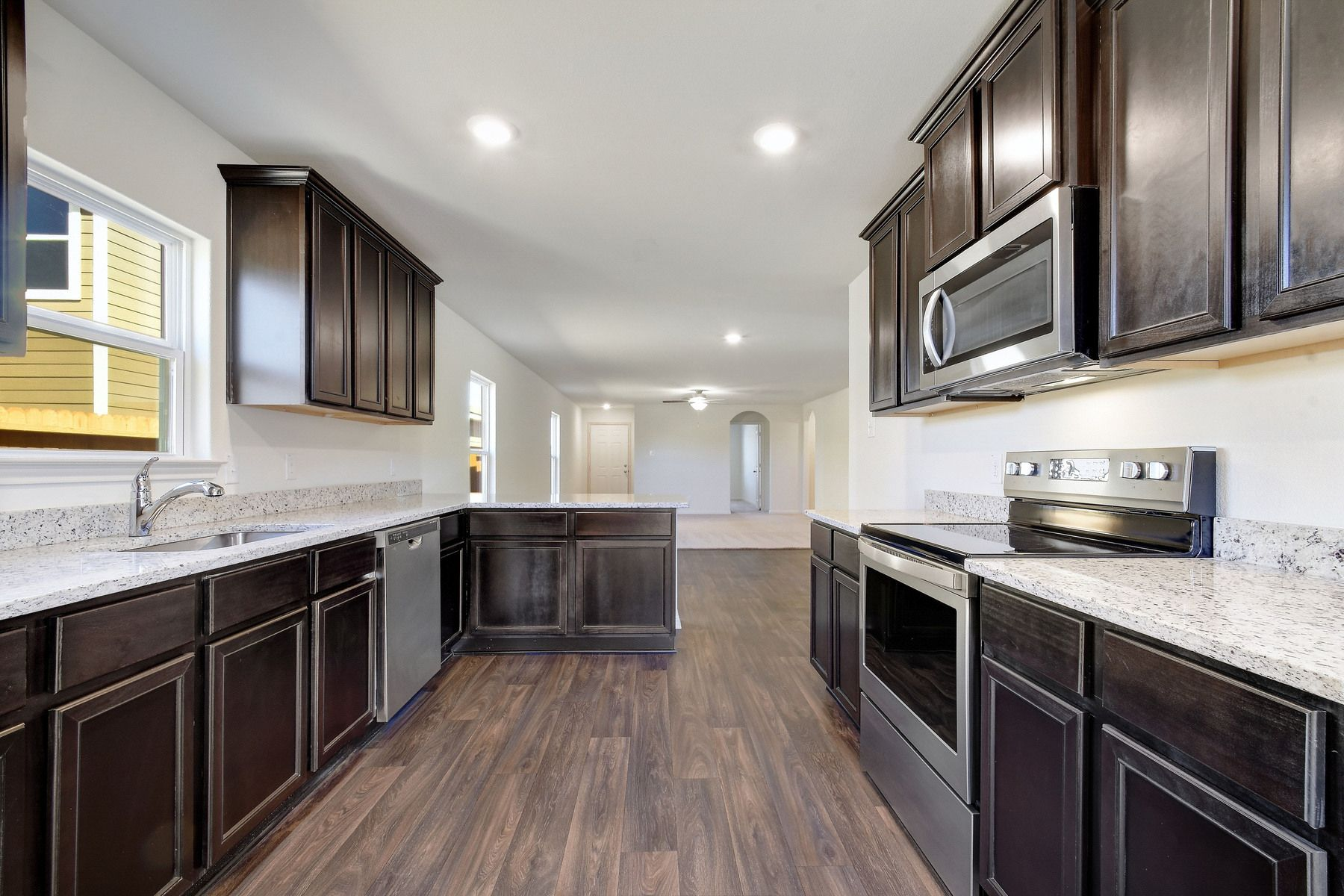 The Medina by LGI Homes:The kitchen comes with a full suite of energy-efficient appliances!