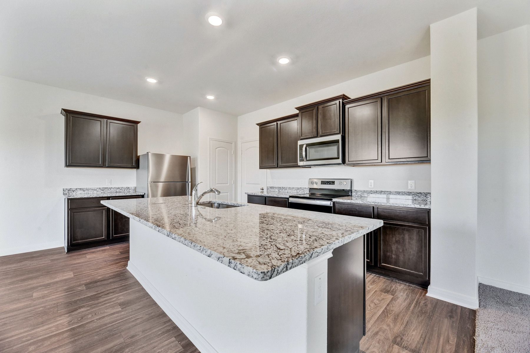 The Rio by LGI Homes:The kitchen comes with a full suite of energy-efficient appliances!