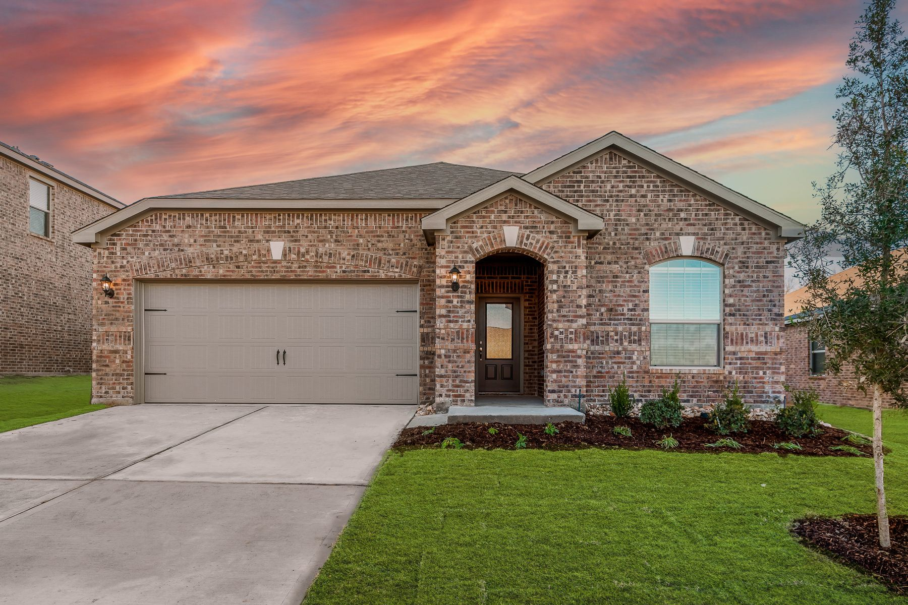 The Topeka by LGI Homes:The Topeka has incredible curb appeal!