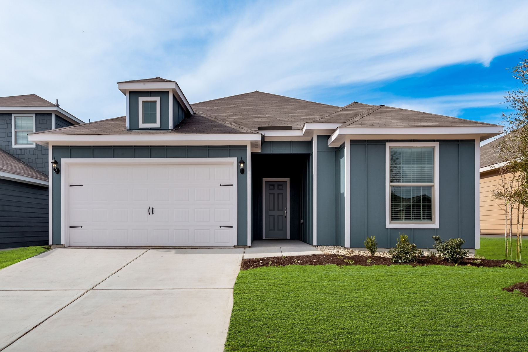 The Reed plan by LGI Homes:The gorgeous Reed plan at Quarter Horse Estates!