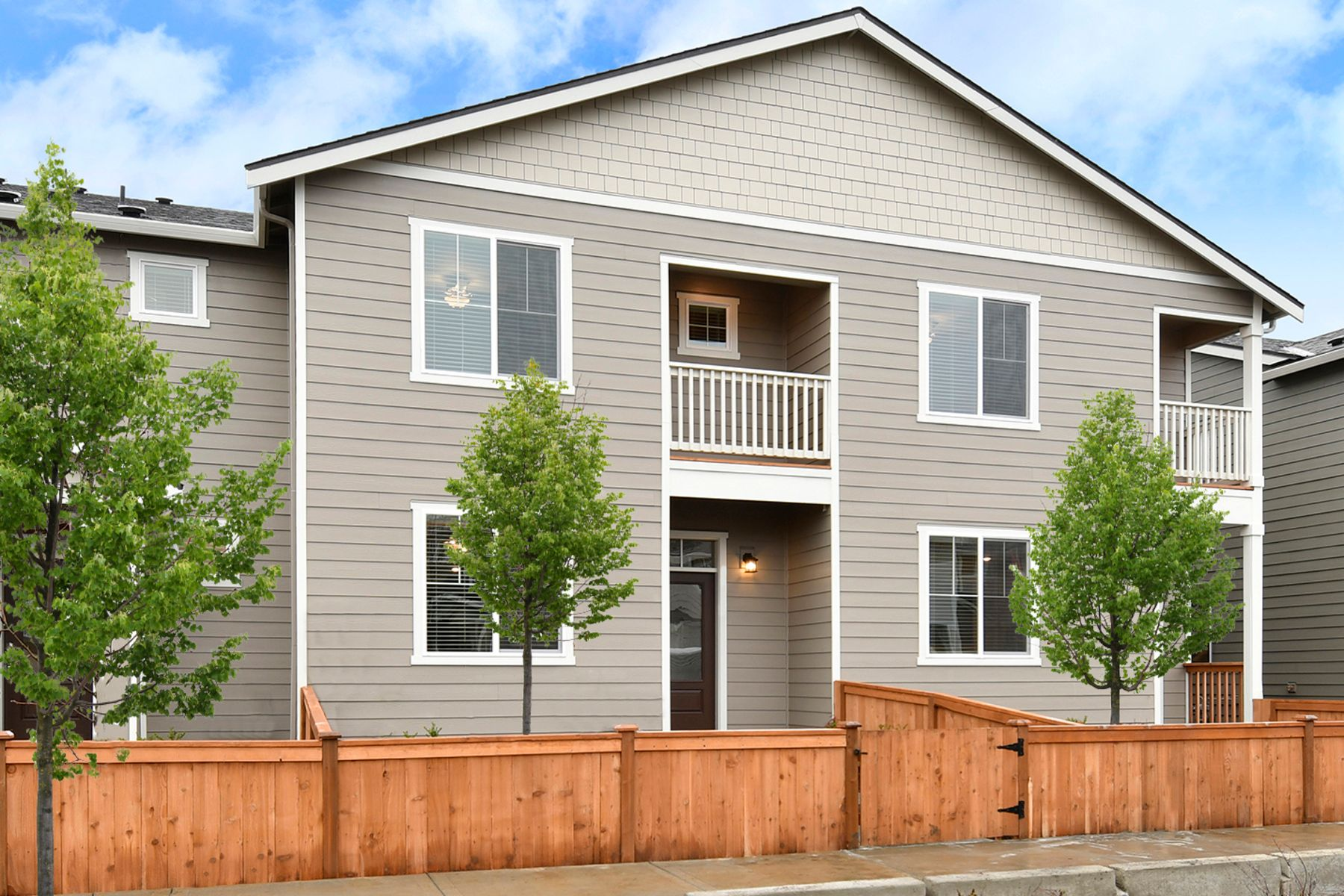 The Estacada Townhome by LGI Homes:LGI Homes at 5th Plain Creek Station