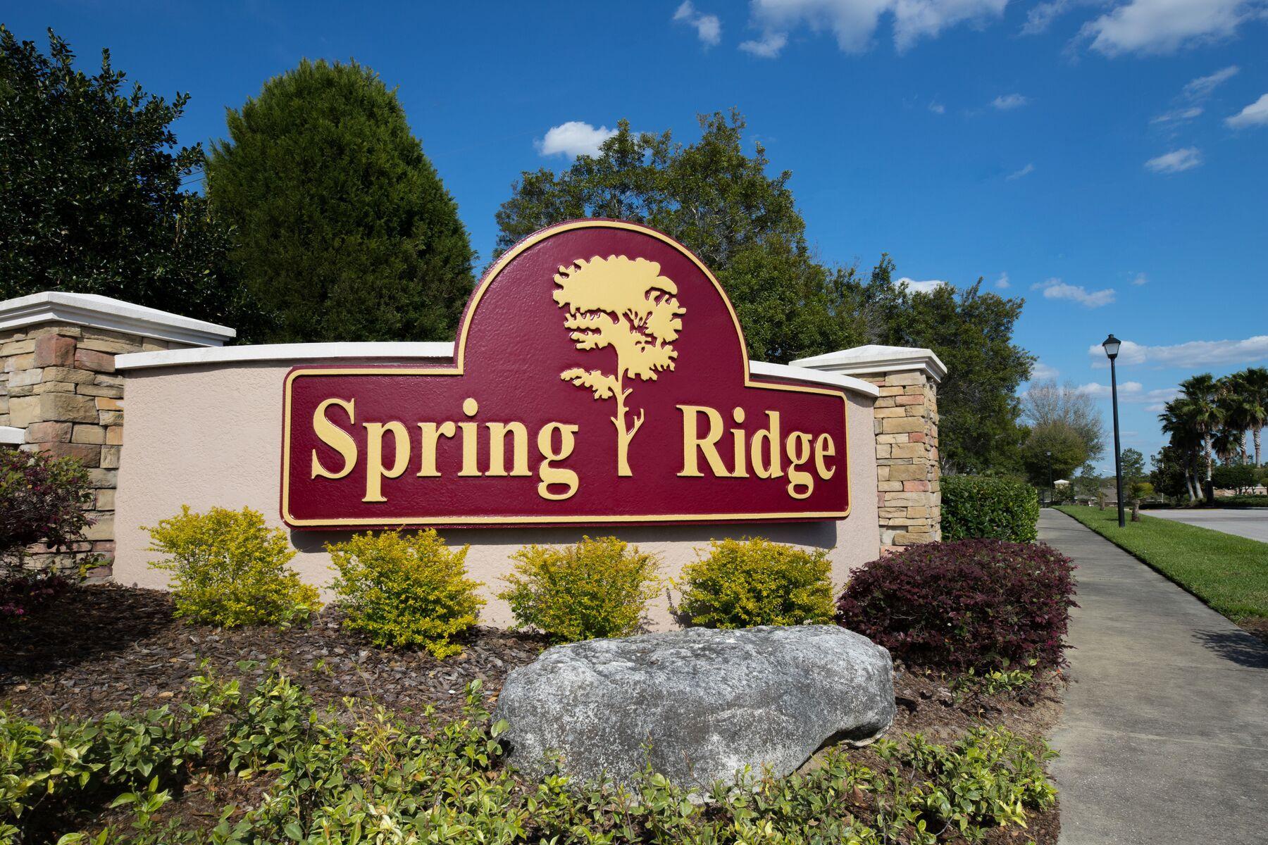 LGI Homes at Spring Ridge:Amenities at Spring Ridge