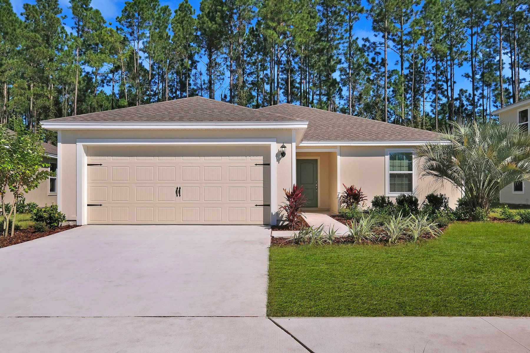 The Bokeelia at The Ridge at Swan Lake:Spacious new home with incredible curb appeal
