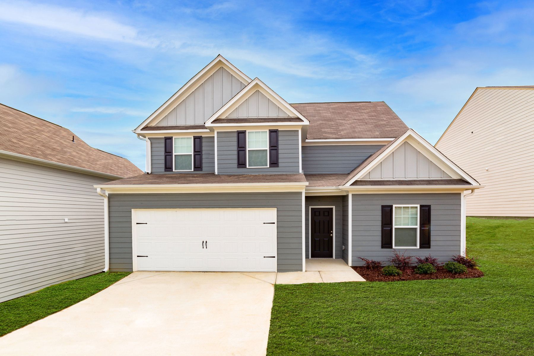 The Hartwell at Twelve Oaks:Spacious new home with incredible curb appeal