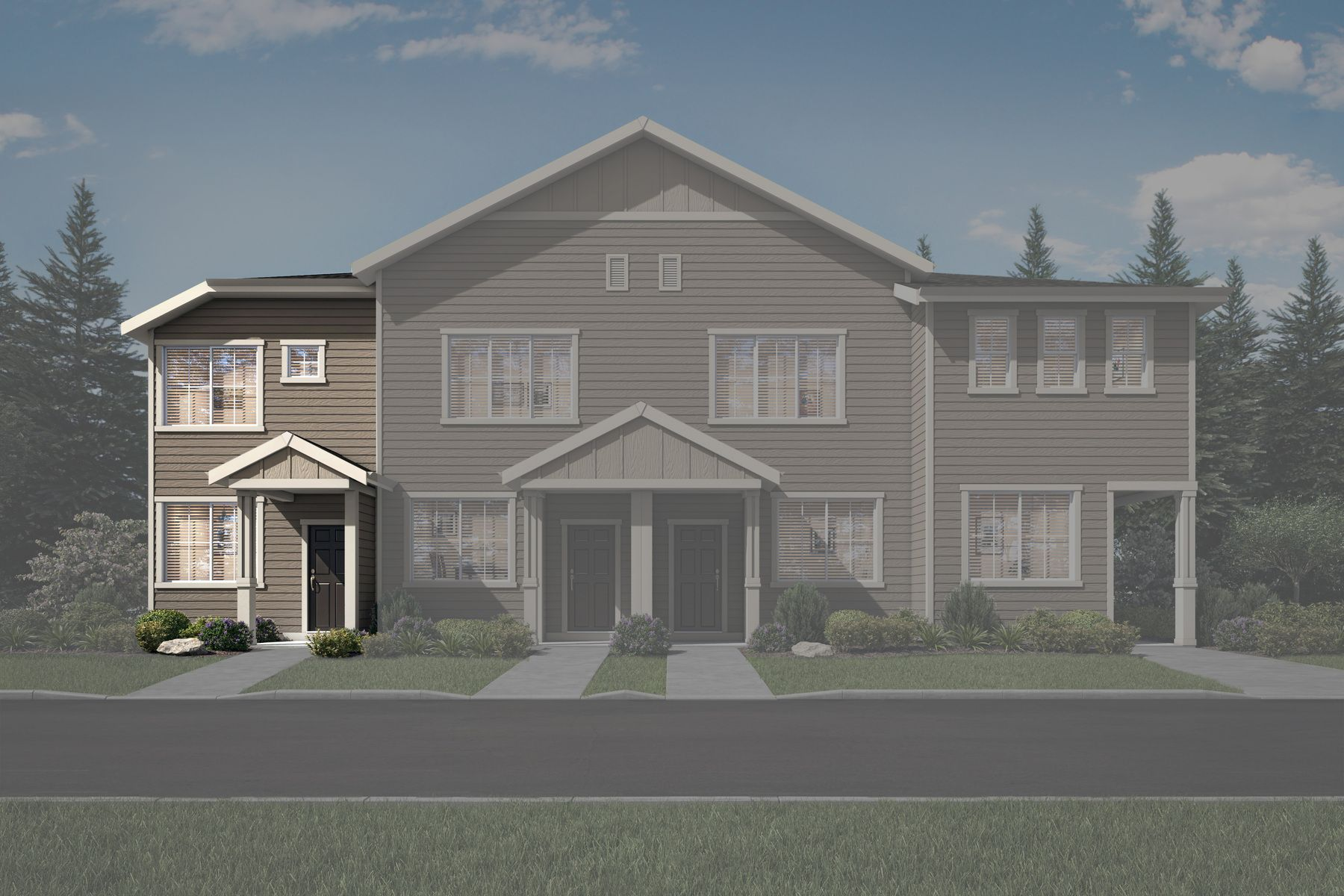 The Apple Townhome by LGI Homes:LGI Homes at Harts Crossing