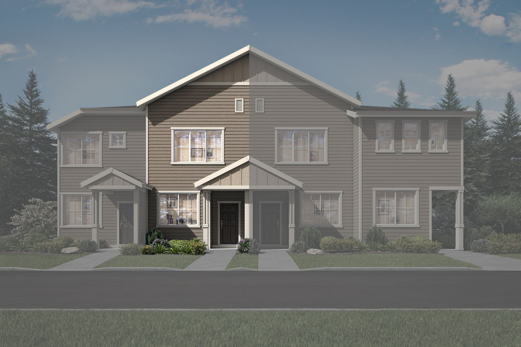 The Blackberry townhome by LGI Homes:LGI Homes at Harts Crossing
