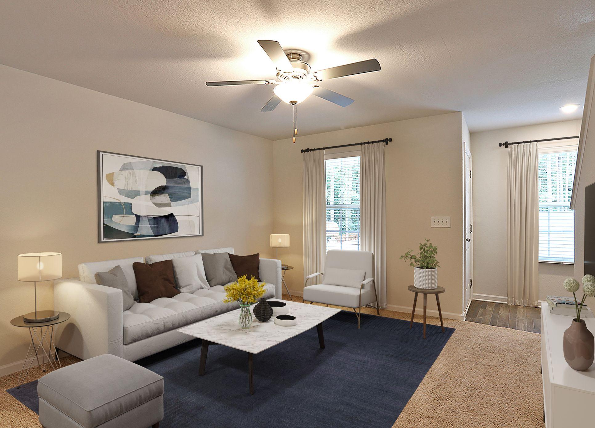 Large family room:LGI Homes