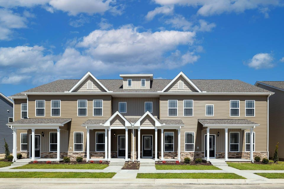 The Carol Townhome at Huntington Pointe by LGI Homes:The Carol plan offers three stories of space, including an upgraded kitchen, stunning owner suite and third-floor game room!