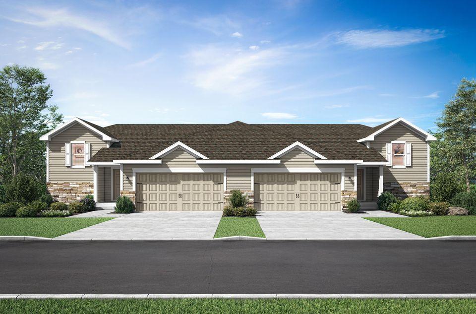 The Benton Twinhome by LGI Homes:LGI Homes at White Tail Ridge