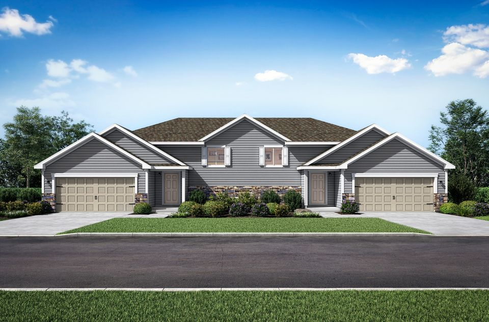 The Grant twinhome by LGI Homes:LGI Homes at White Tail Ridge