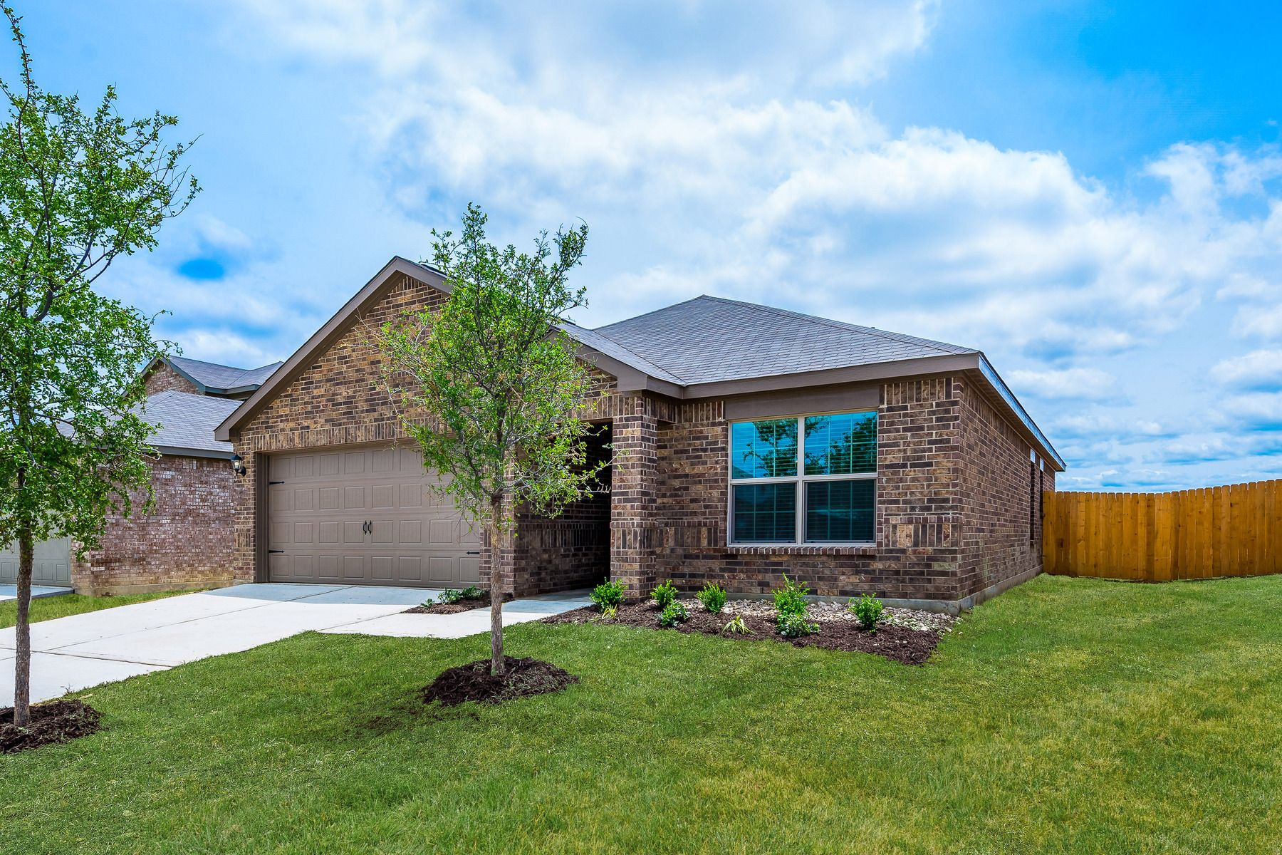 The Blanco by LGI Homes:This home has incredible curb appeal.