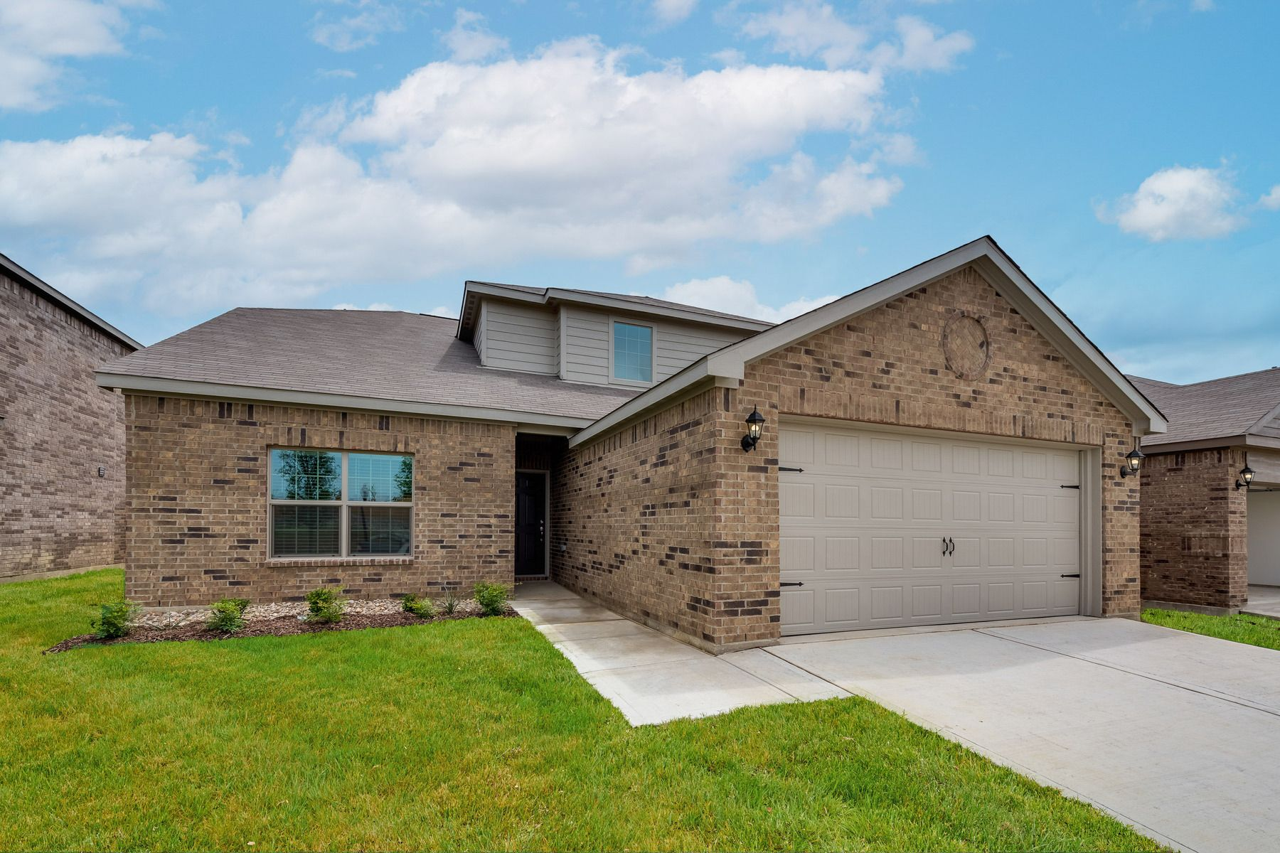 The Cypress by LGI Homes:This home boasts incredible curb appeal.