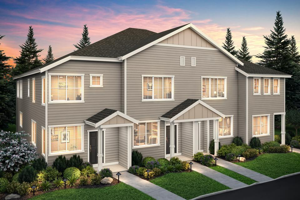 Harts Crossing Townhomes:Move-in ready townhomes with upgrades included in East Portland!