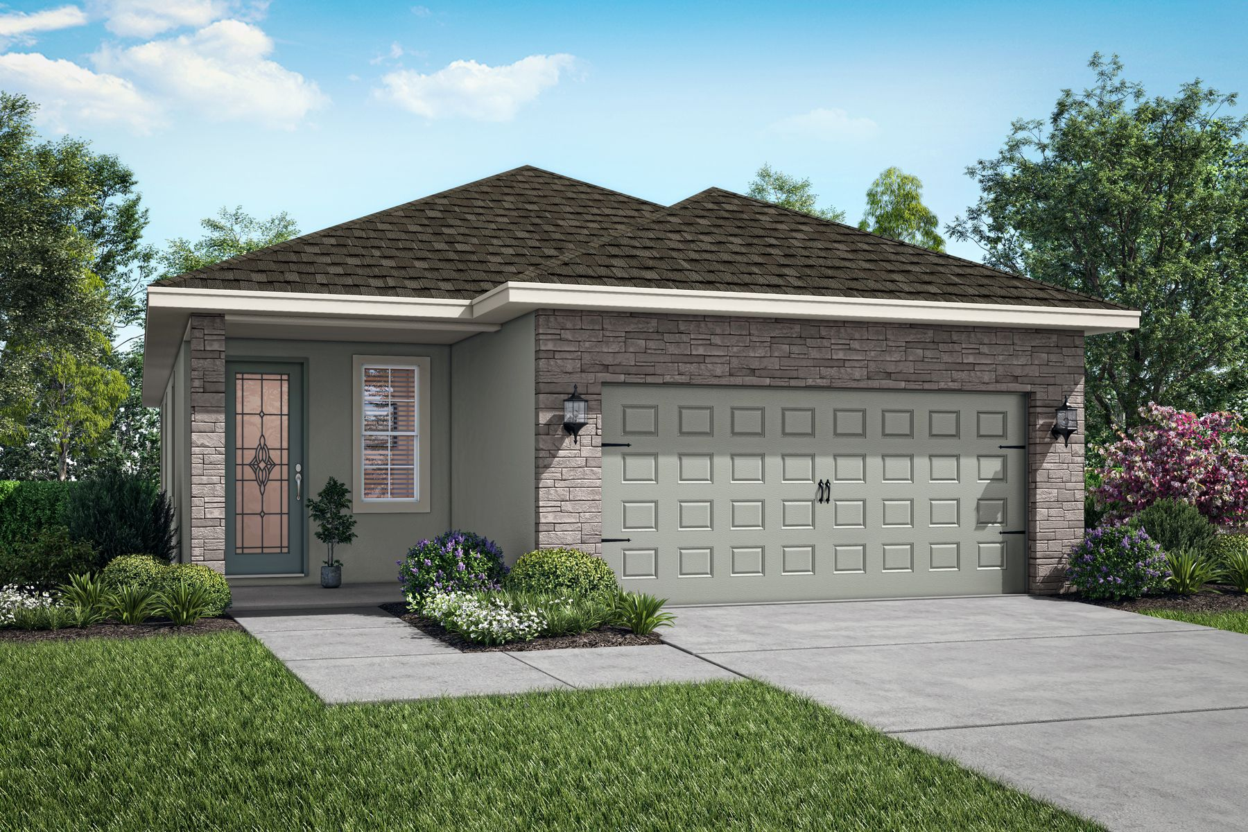 The Beauclair by LGI Homes:Elevation 1