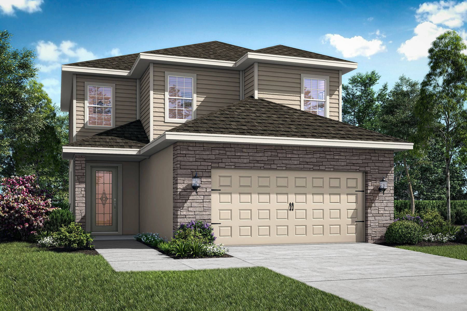 The Louisa by LGI Homes:Elevation 1