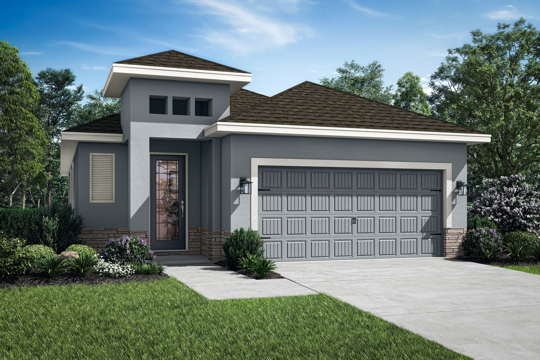 The Crescent by LGI Homes:Elevation 1