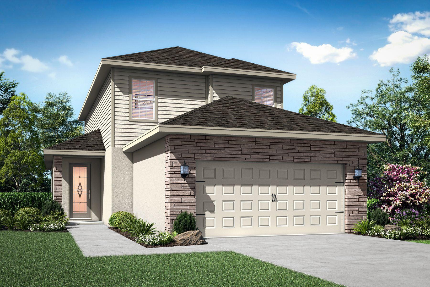 The Verona by LGI Homes:Elevation 1
